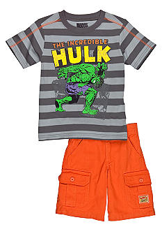 Nannette Incredible Hulk 2- Piece Set Boys 4-7