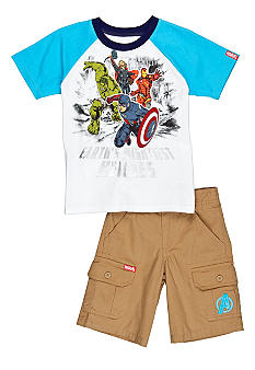 Nannette Avengers 2-Piece  Set Boys 4-7