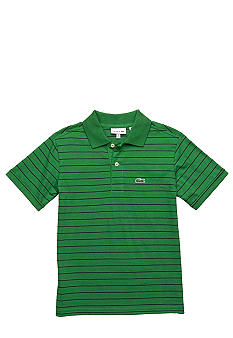 Lacoste Fine Stripe Polo Boys 8-20