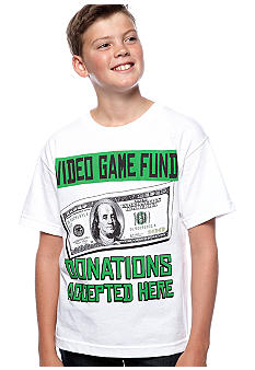 Hybrid Video Game Fund Tee Boys 8-20