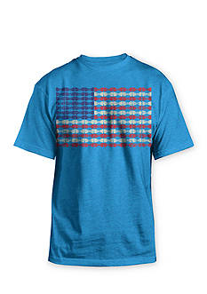 Hybrid Bow Tie Flag Tee Boys 8-20