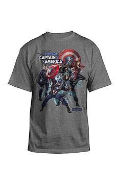 Captain America Team Graphic Tee Boys 8-20