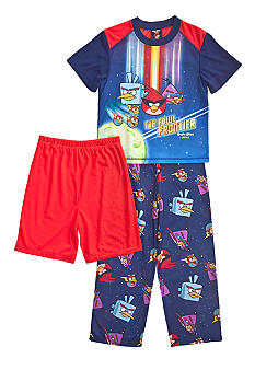 Angry Birds Space 3-piece Pajama Set Boys 4-10