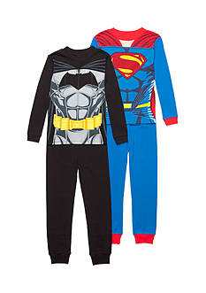 Batman™ 4-Piece Superhero Character Pajama Set Boys 4-20