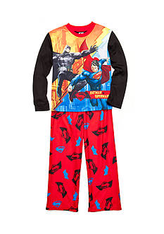 Batman™ 2-Piece Batman vs. Superman Pajama Set Boys 4-20