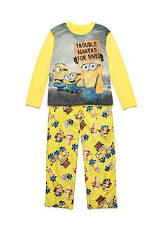 Despicable Me™ 2-Piece Minion for Hire Pajama Set Boys 4-20