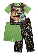 Nickelodeon™ Ninja Turtles 3-piece Pajama Set Boys 4-10