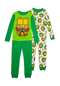 Nickelodeon™ 4-Piece Teenage Mutant Ninja Turtles Pajama Set Boys 4-20