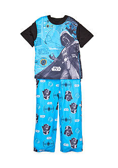 Star Wars 2-Piece Darth Vader Pajama Set Boys 4-10