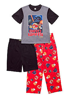 Angry Birds & Star Wars 3-piece Pajama Set Boys 4-12