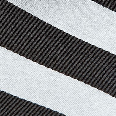 Boys Ties: Black J Khaki™ Stripe Tie Boys 4-20