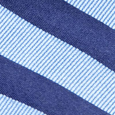 Boys Youth Ties: Navy J Khaki™ Stripe Tie Boys 4-20