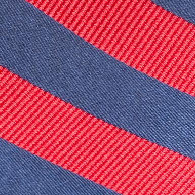 Boys Youth Ties: Red J Khaki™ Stripe Tie Boys 4-20