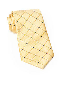 J Khaki Patterned Tie Boys 4-20