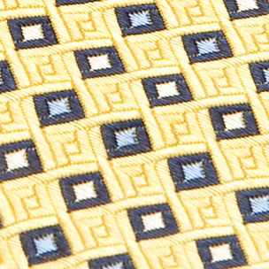 Boys Youth Ties: Yellow J Khaki™ Patterned Tie Boys 4-20