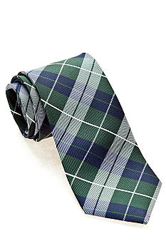 Green Plaid Tie Boys 4-20