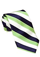 J Khaki™ Green Stripe Tie Boys 4-20