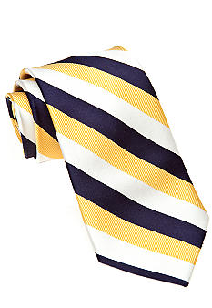 Yellow Stripe Tie Boys 4-20