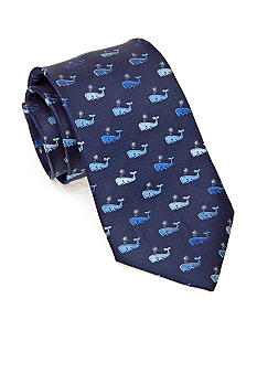 J Khaki Whale Themed Tie Boys 4-20