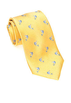 J Khaki Marlin Themed Tie Boys 4-20