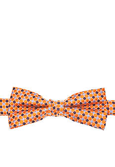 J Khaki Orange Tile Bowtie Boys 4-20