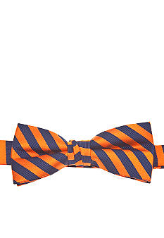 J Khaki Orange Stripe Bowtie Boys 4-20