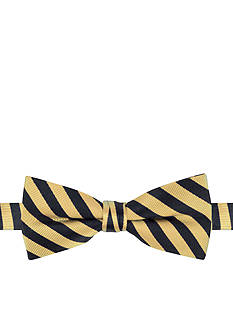 J Khaki™ Basic Bar Stripe Bow Tie Boys 4-20