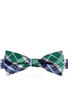 J Khaki™ Window Pane Plaid Bow Tie Boys 4-20