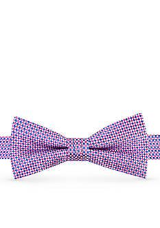 J Khaki™ Micro Check Neat Pre Tied Bow Tie Boys 4-20
