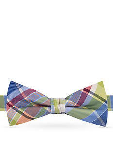 J Khaki™ Giant Plaid Bow Tie Boys 4-20