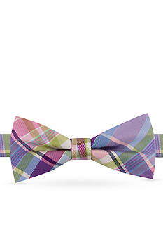 J Khaki™ Giant Plaid II Bow Tie Boys 4-20