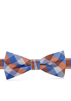 J Khaki™ Oxford Box Plaid Bow Tie Boys 4-20