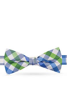 J Khaki™ Double Gingham Pre-Tied Bow Tie Boys 4-20