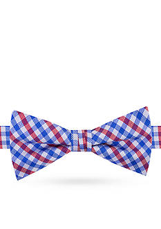 J Khaki™ Micro Gingham Bow Tie Boys 4-20