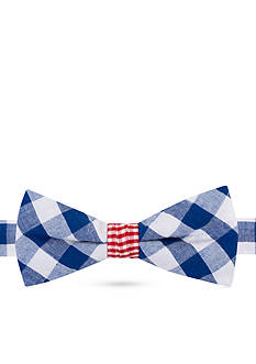J Khaki™ Debate Gingham Bow Tie Boys 4-20