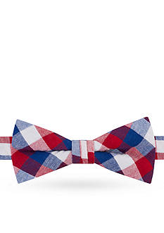 J Khaki™ Double Gingham Bow Tie Boys 4-20