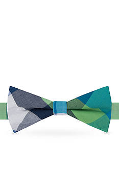 J Khaki™ Madras Check Bow Tie Boys 4-20