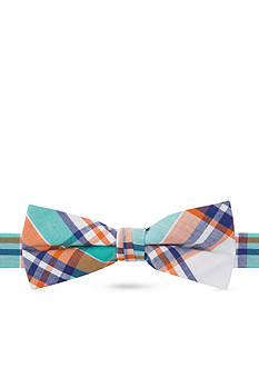 J Khaki™ Happy Madras Plaid Bow Tie Boys 4-20