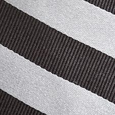 Boys Ties: Black J Khaki™ Stripe Zip Tie Boys 2-7