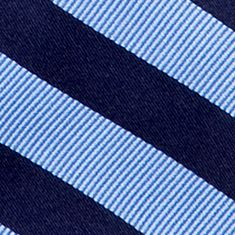 Boys Ties: Navy J Khaki™ Stripe Zip Tie Boys 2-7