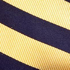 Toddler Ties: Yellow J Khaki™ Stripe Zip Tie Boys 2-7