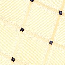 Toddler Ties: Yellow J Khaki™ Pattern Zip Tie Boys 2-7