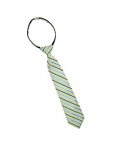 J Khaki Green Stripe Zip Tie Boys 2-7