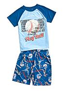 J Khaki™ 2-Piece Baseball Pajama Set Boys 4-20