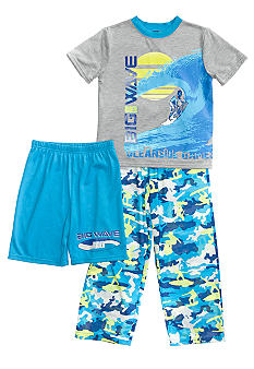 J Khaki Surf Camo Pajama Set Boys 4-20