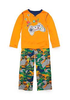 J. Khaki Graphic Gamer Camo Pajama Set Boys 4-20