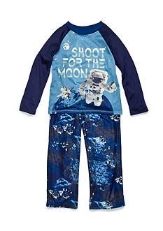 J. Khaki Shoot For The Moon 2-Piece Pajama Set Boys 4-20