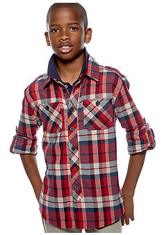 Buffalo David Bitton Woven Shirt Boys 8-20