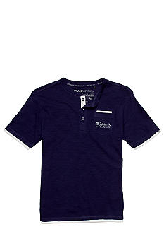 Buffalo David Bitton Nopper Henley Tee Boys 8-20