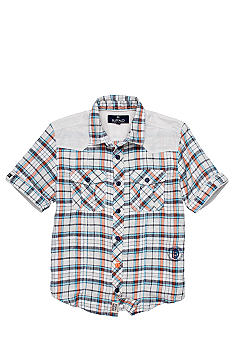Buffalo David Bitton Sorun Roll Tab Woven Shirt Boys 8-20